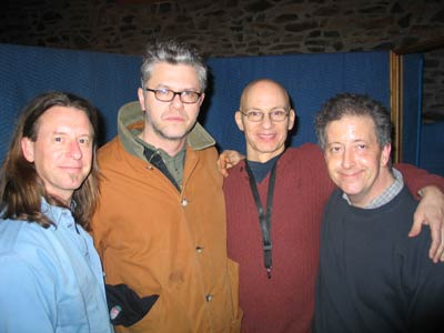 pic19in studio with matt wilson, bob magnuson and kermit driscoll