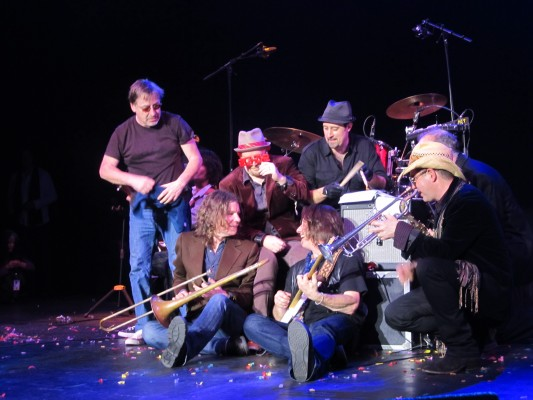 With Southside Johnny and the Asbury Jukes - Count Basie Theatre - December 31, 2011