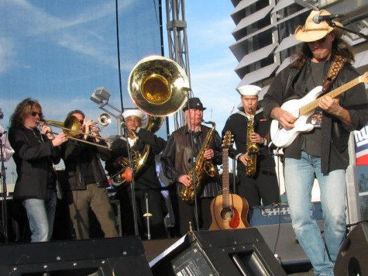 With Southside Johnny and the Asbury Jukes - MetLife Stadium - November 14, 2010