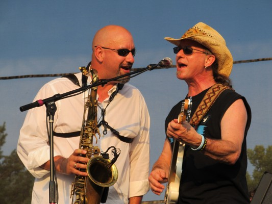 With Southside Johnny and the Asbury Jukes - Joint Bases Lakewood - July 4, 2012